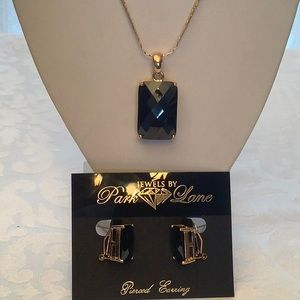 Park Lane Grand Necklace and Earrings Vintage Set